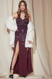 dress gal gal studio ella embellished maxi dress shop clothes at