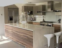 nice ivory wooden kitchen cabinet neat coconut granite floor