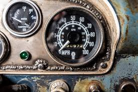 Vintage Ford Truck Gauges - frankenford 1960 ford f 100 with a caterpillar diesel engine swap