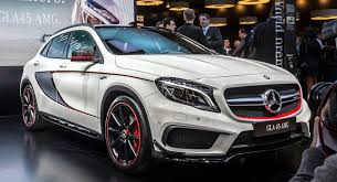 mercedes gla amg mercedes gla 45 amg brings high performance to compact suvs