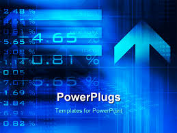 templates powerpoint crystalgraphics powerpoint template animated financial data and stock chart on blue