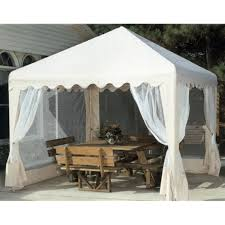 Mainstays Gazebo Replacement Parts by King Canopy Garden Party Backyard Gazebo Walmart Com