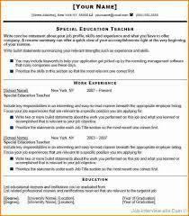 Beginning Teacher Resume Examples by 10 Fresher Teacher Resume Examples Invoice Template Download