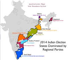 India Regions Map by May 2014 Archives Geocurrents
