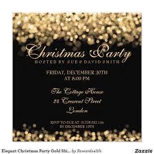 elegant christmas party invitations marialonghi com