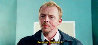 Shaun Of The Dead Meme - gif funny simon pegg shaun of the dead nick frost dom is a dom