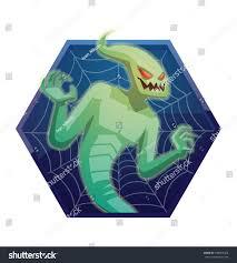 spirit halloween spider vector dark blue hexagonal frame spider stock vector 489907003