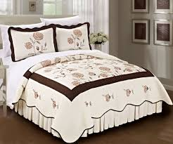 Sunflower Bed Set Sunflower Bedspread Traditional Classic Quilts Blissful Comforts