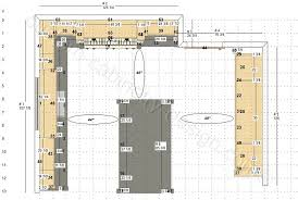 Create Floor Plan With Dimensions Cabinetry Floor Plan Elevations Design Layouts To Build Cabinets