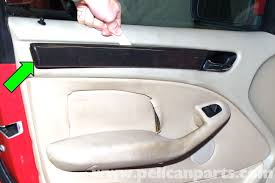 bmw e46 interior door panel removal bmw 325i 2001 2005 bmw