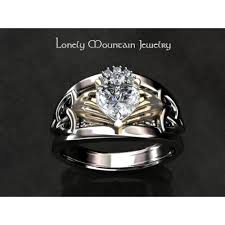 claddagh wedding ring wedding ring custom setting without center