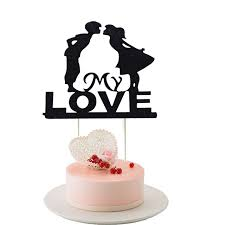 heart cake topper my cupcake cake topper heart cake flags happy birthday