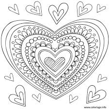 the 25 best mandala coeur ideas on pinterest coloriage coeur
