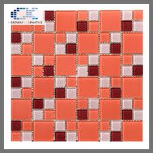 Red Mosaic Tile Backsplash by Discount Glass Tile Backsplash For Kitchen 2017 Glass Tile