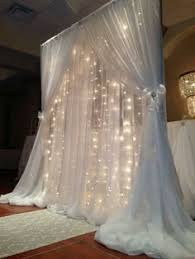 wedding arches with lights draped wedding arch with lights decos iglesia