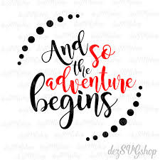 margarita svg and so the adventure begins svg and clipart cut file dxf