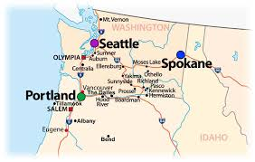 Tillamook Oregon Map by Infinity Transportation Logistics Round Trip Service Portland