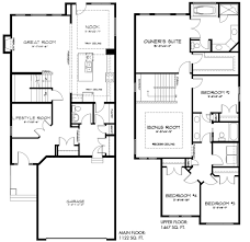 Tamarack Floor Plans by Secretariat Tamarack Common 10482 Pacesetter Homes