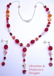 Handcrafted Handmade Semiprecious Gemstone Beaded 92 Best Heart Hearts Love Jewellery Jewelry Romance Handcrafted