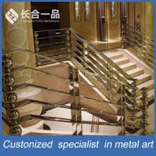 Stainless Steel Stair Handrails China Factory Manufacture Special Design Stainless Steel Staircase