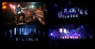 justin bieber visuals tour dblock