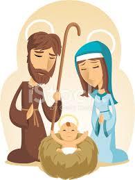 imagenes de jesucristo animado navidad bebé jesús natividad con la virgen maría y padre josep stock