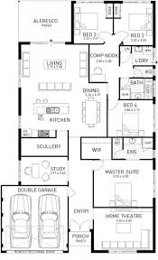 Floor Plans For Narrow Lots by Extremely Creative 12 Narrow Lot House Plans Wa Floor For Blocks