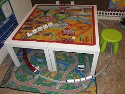 Ikea Kid Table by 4 Ikea Lack Tables 7 99 Per Table On Table Road Rug Cars And