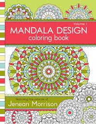 design coloring book mandala design coloring book volume 1 u2014 jenean morrison art u0026 design