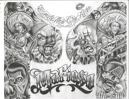 chicano tattoos chicano flash hamburg