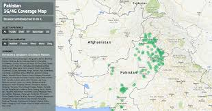 sukkur map 3g coverage map for pakistan