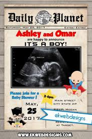 superman baby shower newspaper baby shower invitations printable daily