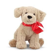 dog ribbon plush dog with ribbon plush dog