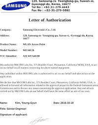 Letterhead Cover Letter Wea412h Wlan Access Point Cover Letter Please Print On Company