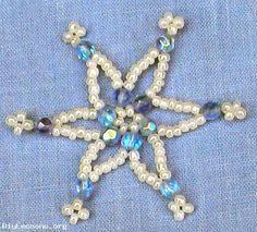 free printable beading ornaments patterns