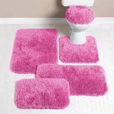 Pink Bathroom Rugs And Mats Interesting Light Pink Bath Rugs Adorable Bathroom Ballers
