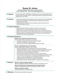 Sample One Page Resume Format by Download 1 Page Resume Haadyaooverbayresort Com