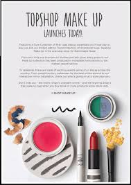 Make Up Classes Online Free Topshop Makeup Is Online Now