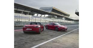sharper design greater performance the 2018 porsche 718 gts models
