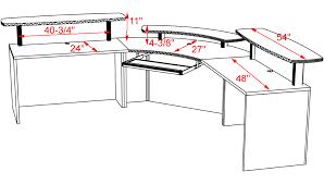 Office Furniture Reception Desk Counter by Custom Reception Desk