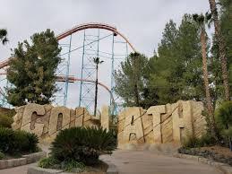 Goldrusher Six Flags Magic Mountain Six Flags Magic Mountain Update January 16th 2018 California