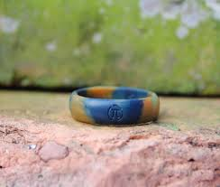 fit ring women u0027s silicone wedding ring camo powered by