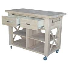 unfinished x side kitchen island unfinishedfurnitureexpo