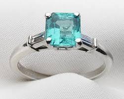 alternative wedding rings 5 vintage emerald engagement rings for the alternative