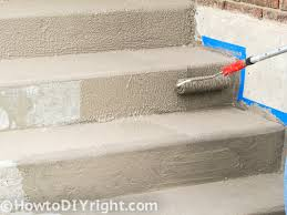 How To Resurface Concrete Patio How To Restore Concrete Patio Front Porch Decks In Easy