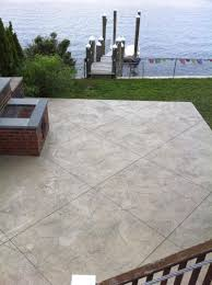 Stain Old Concrete Patio by Artistic Stamped Concrete Of Rhode Island Artistic Concrete