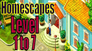 homescapes gameplay level 1 to 7 the new game of playrix is