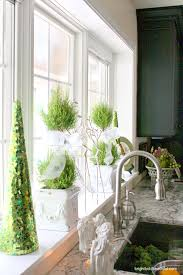 Kitchen Windowsill 8 Decorating Ideas In This Holiday Home Tour Hometalk