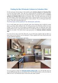 best made kitchen cabinets finding the best wholesale cabinets in columbus ohio by
