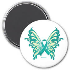 ovarian cancer butterfly gifts on zazzle